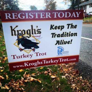 Register today www.KroghsTurkeyTrot.com. #spotthetrot, #keepthetradtionalive, #supportsef, #kroghsturkeytrot